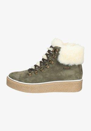 Snowboots  - olivegrün
