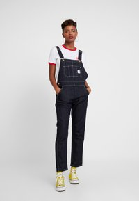 Carhartt WIP - OVERALL - Dungarees - dark stone washed - 0