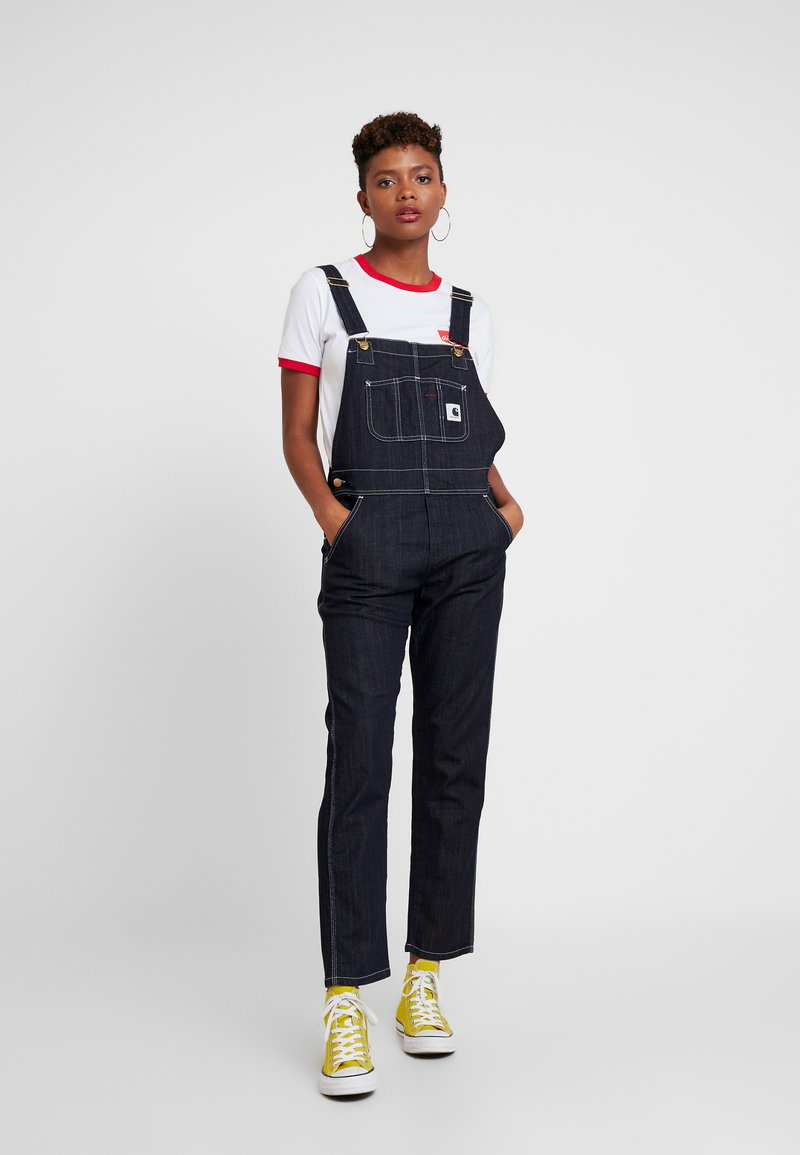 Carhartt WIP - OVERALL - Dungarees - dark stone washed