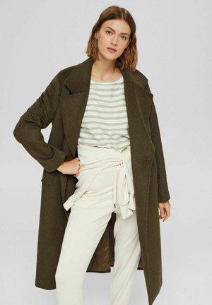 MIX - Classic coat - dark khaki