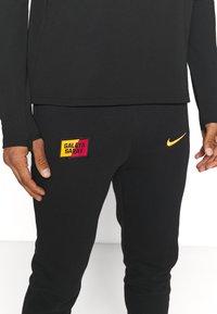 Nike Performance - GALATASARAY ISTANBUL PANT - Club wear - black/vivid orange - 4