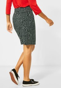 Street One - ZEBRA ROCK  - Wrap skirt - grün - 2