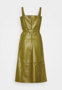 Proenza Schouler White Label - LIGHTWEIGHT BELTED DRESS - Robe d'été - military - 9