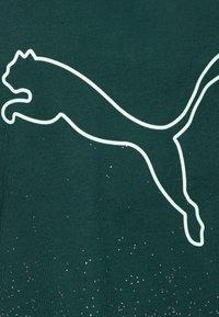 Puma - METALLIC DRAPE KNOT TEE - Print T-shirt - ponderosa pine - 2