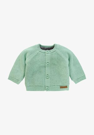 LOU - Cardigan - grey mint
