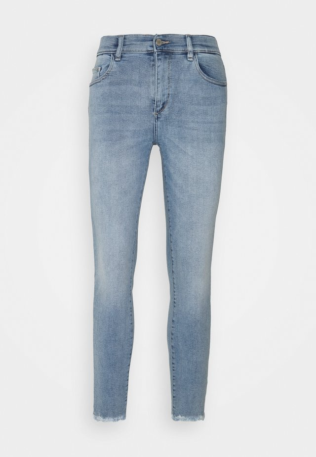 FLORENCE MID RISE INSTASCULPT CROP - Jeans Skinny Fit - marina