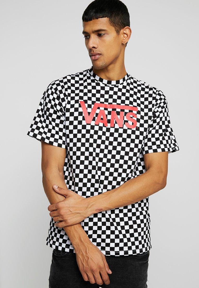 Vans - CLASSIC - Print T-shirt - black/white