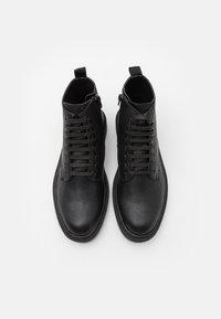 Topman - HECTOR - Šněrovací kotníkové boty - black - 3
