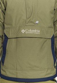 Columbia - CHALLENGER - Windbreaker - stone green/collegiate navy - 7