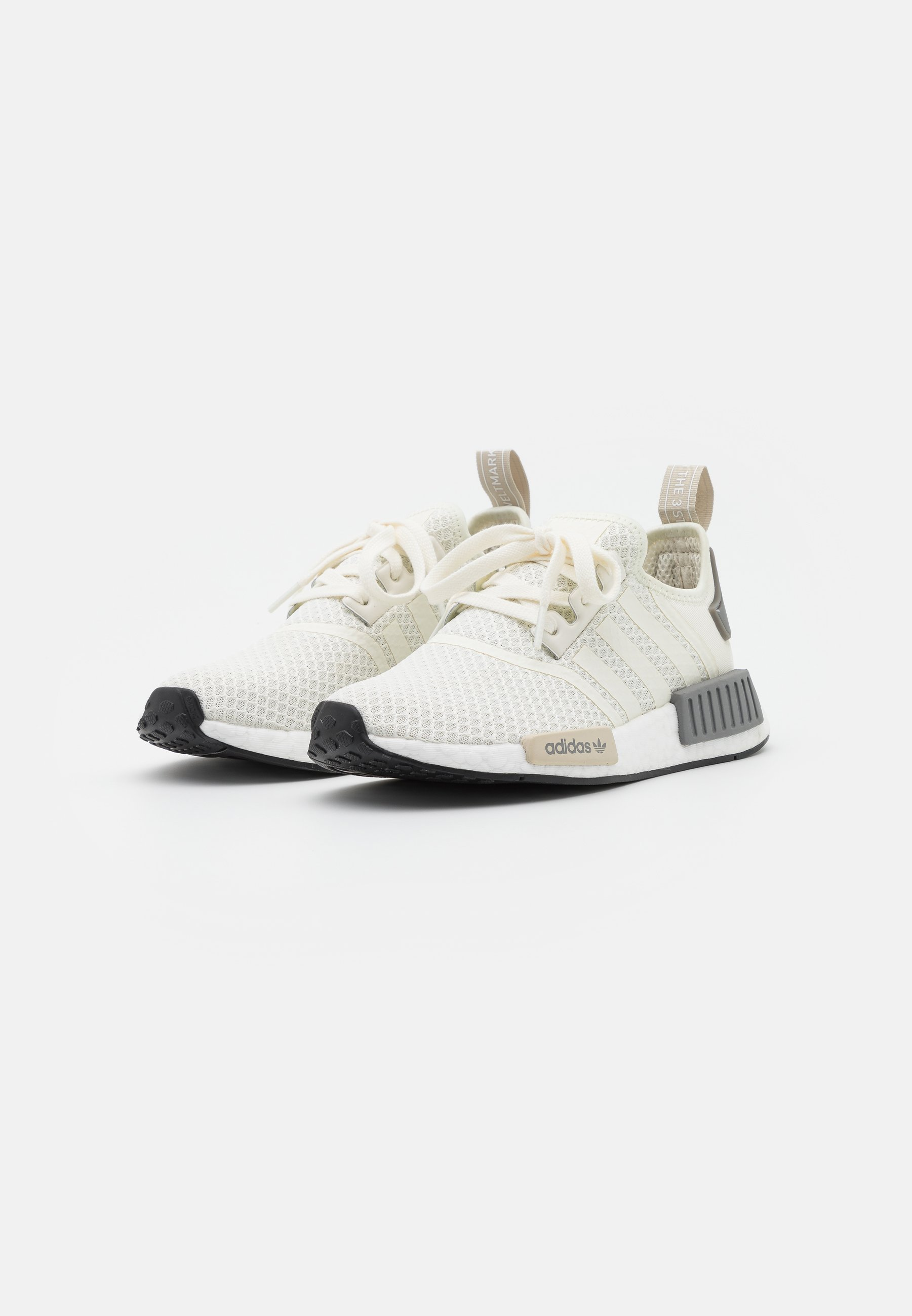 adidas Originals NMD_R1 BOOST SPORTS INSPIRED SHOES Sneaker low offwhite/core brown/grey three/offwhite