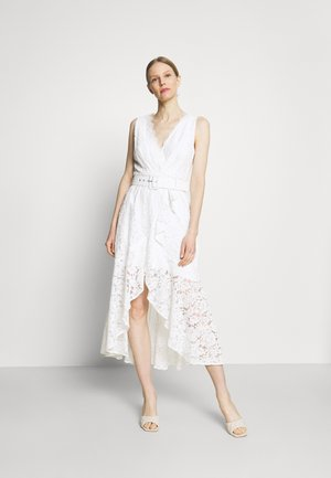 RANDA DRESS - Vestido de cóctel - true white