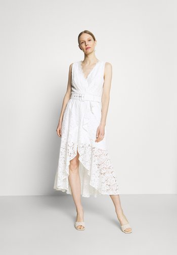 RANDA DRESS - Juhlamekko - true white