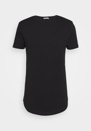 BADGE - Basic T-shirt - black