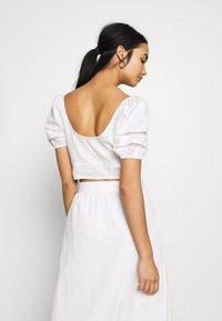 Fashion Union - CAPOTE - Blouse - white - 2