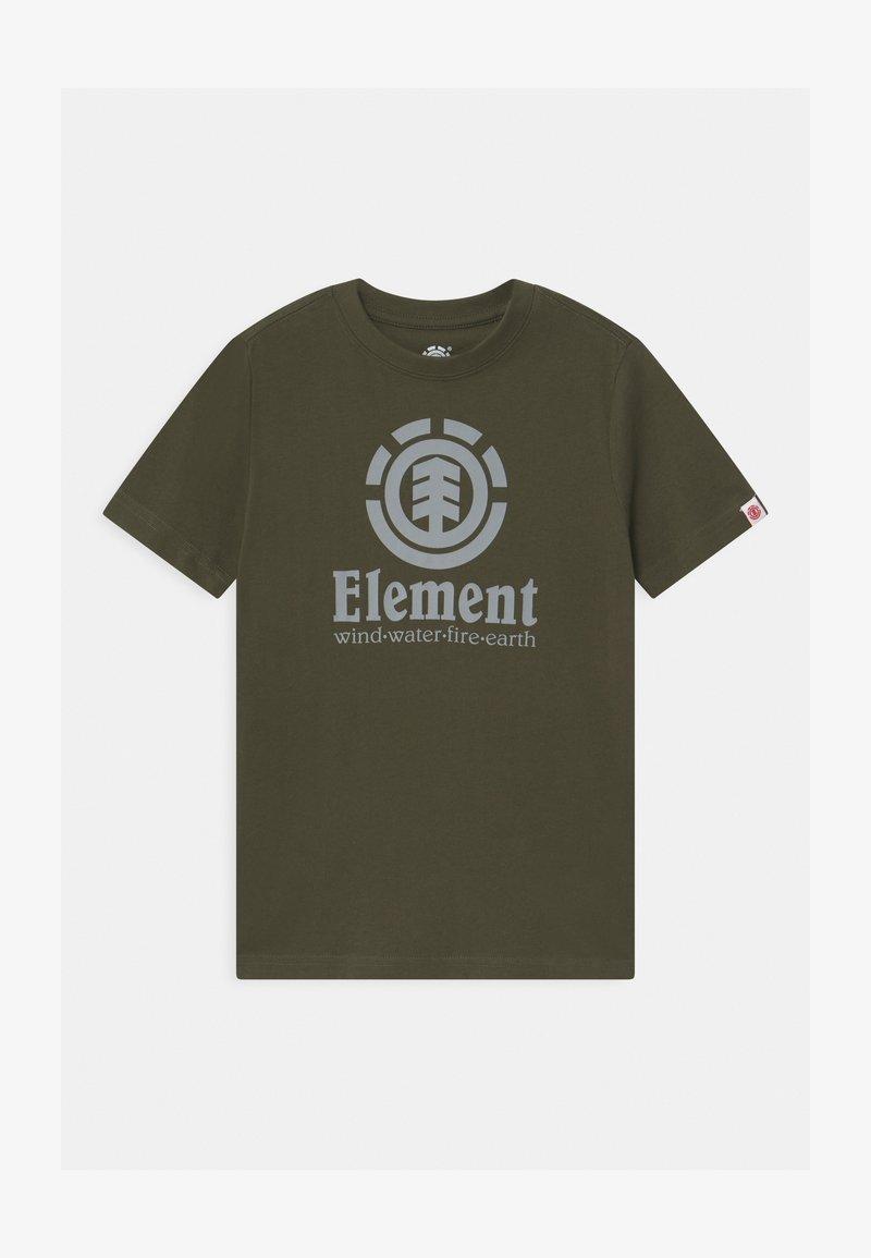 Element - VERTICAL BOY - Print T-shirt - forest night
