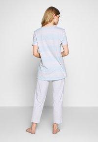 Schiesser - ANZUG 7/8 LANG, 1/2 ARM - Pyjama set - grau-melange - 2