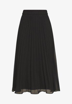 LAURA PLISSÉ SKIRT - Pleated skirt - black