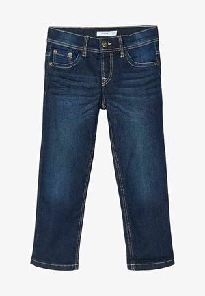 REGULAR FIT - Straight leg jeans - dark blue denim