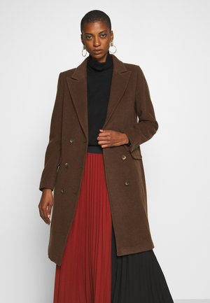 LAUDA - Classic coat - bitter chocolate