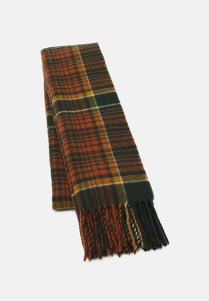 DIPPER CHECK  - Scarf - orange/white