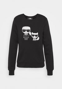 KARL LAGERFELD - IKONIK CHOUPETTE - Sweatshirt - black - 3