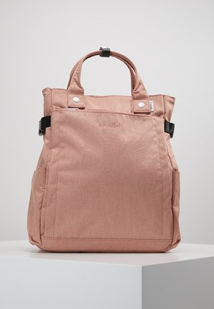 2 WAY BACKPACK - Ryggsäck - nude pink
