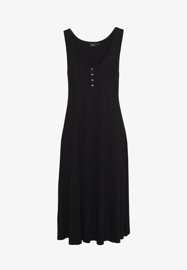 VFREJA DRESS - Jerseyjurk - black