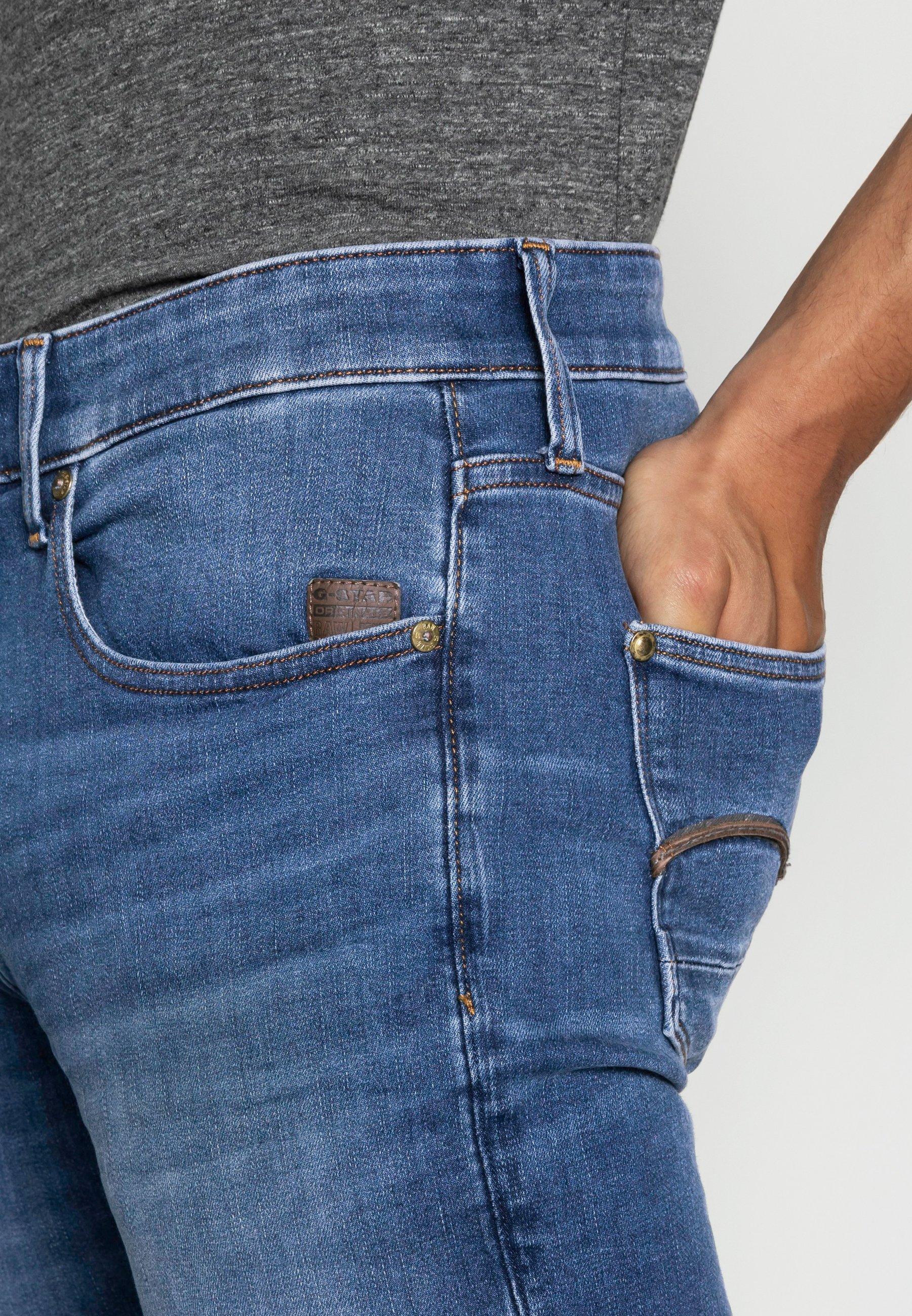 Men REVEND SKINNY - Slim fit jeans - medium indigo