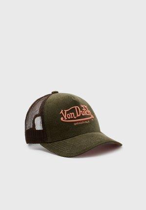 TRUCKER UNISEX - Cap - green/brown