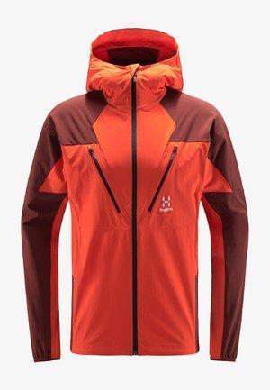 TEGUS JACKET - Training jacket - habanero/maroon red