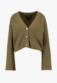 Object Petite - OBJCAMDEN CARDIGAN REPEAT - Cardigan - burnt olive - 4