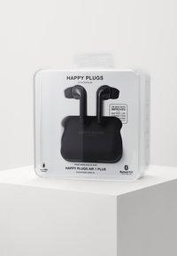 Happy Plugs - AIR 1 PLUS IN EAR UNISEX - Sluchátka - black - 1
