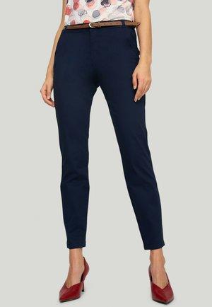 Spodnie materiałowe - navy blue