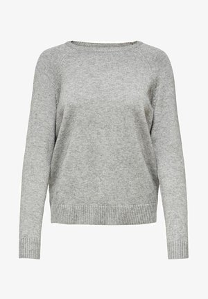 ONLLESLY KINGS - Neule - medium grey melange