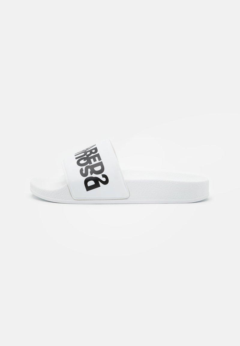 Dsquared2 - UNISEX - Pantofle - white