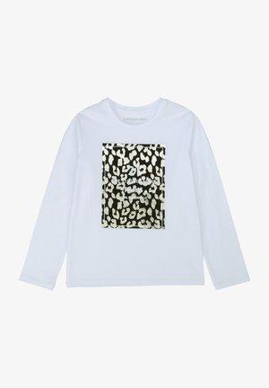 T-shirt à manches longues - blanc