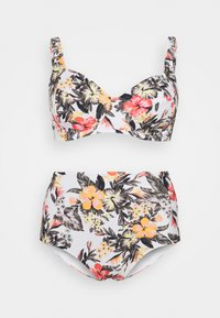 O'Neill - BELLA TALAIA FIX SET - Bikini - white/red - 6