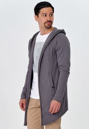 BREKSTAD - Zip-up hoodie - dark grey