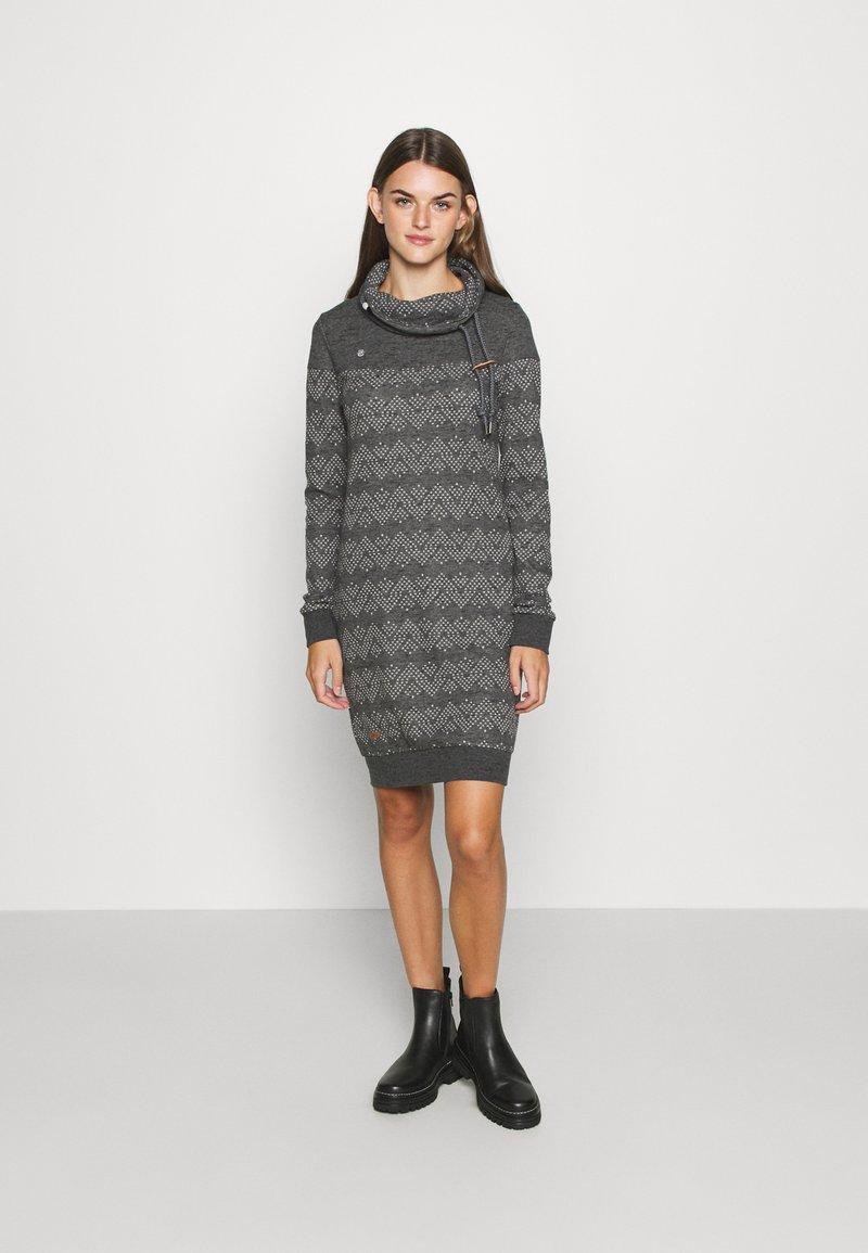 Ragwear - DRESS - Day dress - black