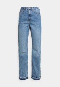 Weekday - ROWE SPLIT - Jeans straight leg - hanson blue - 4