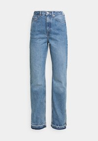 ROWE SPLIT - Jeans straight leg - hanson blue