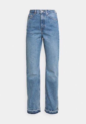ROWE SPLIT - Jeans a sigaretta - hanson blue