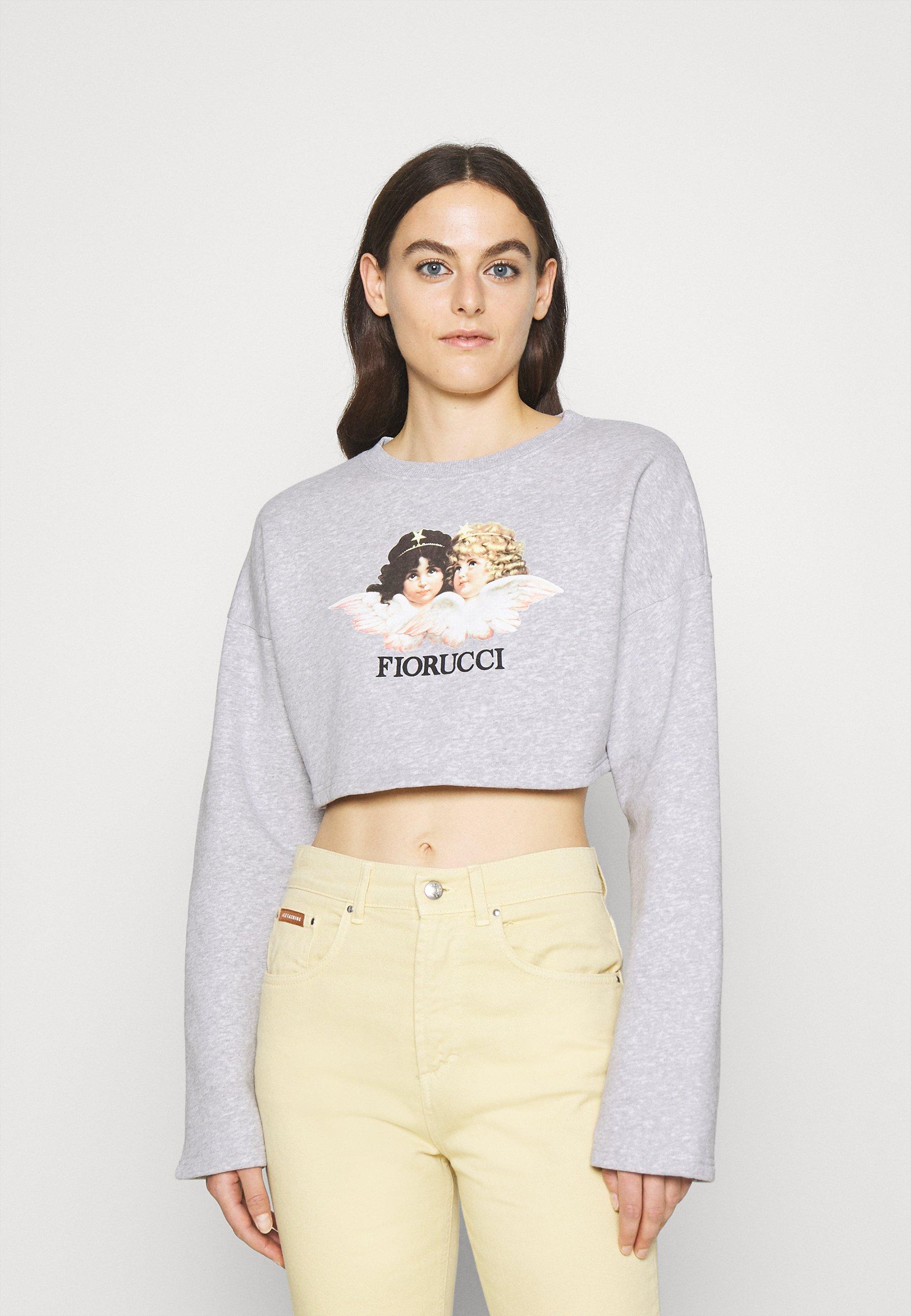Women VINTAGE ANGELS CROPPED - Sweatshirt