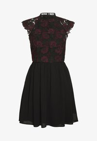 Chi Chi London Petite - SAWYER DRESS - Juhlamekko - black - 3