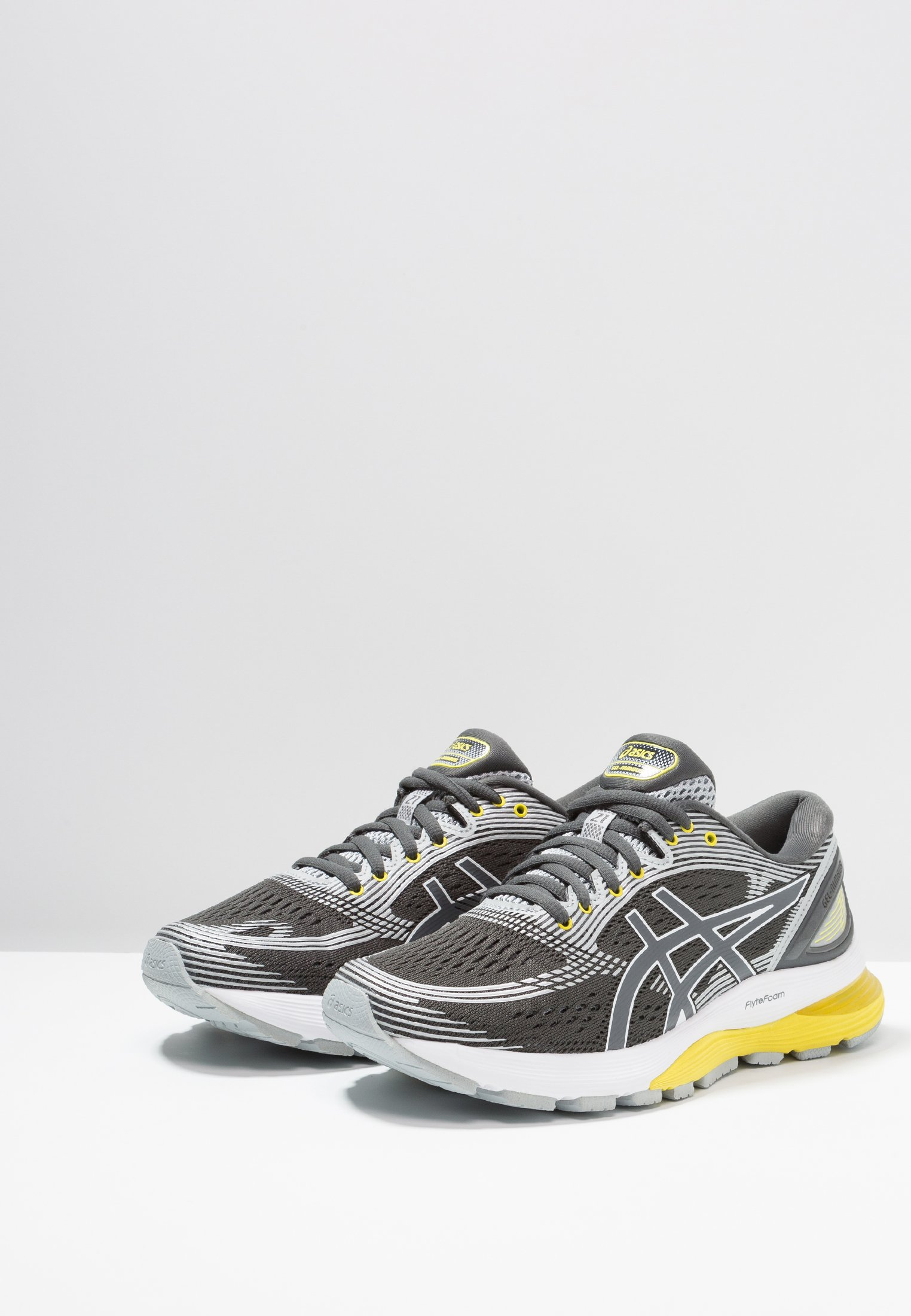 GEL-NIMBUS 21 - Zapatillas de running neutras - dark grey/mid grey
