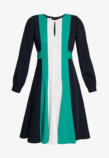LYLA DRESS - Kjole - navy multi