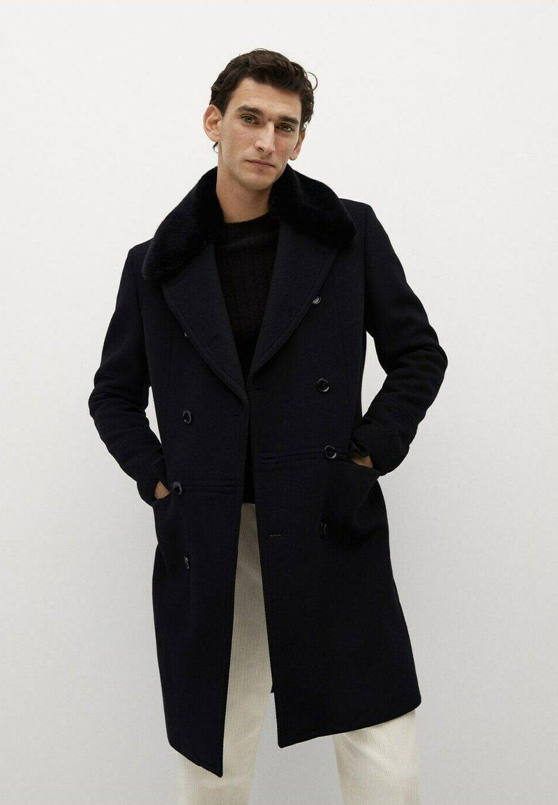 Mango - WILSON - Classic coat - schwarz