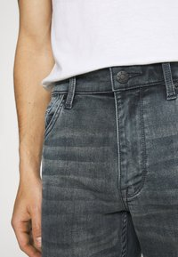 s.Oliver - Denim shorts - dark grey - 4