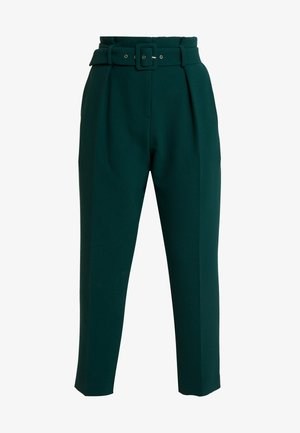 CLOSET PAPER BAG TROUSERS WITH BELT - Trousers - green