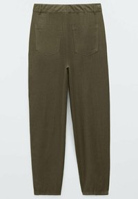 Massimo Dutti - RELAXED-FIT - Trousers - green - 4